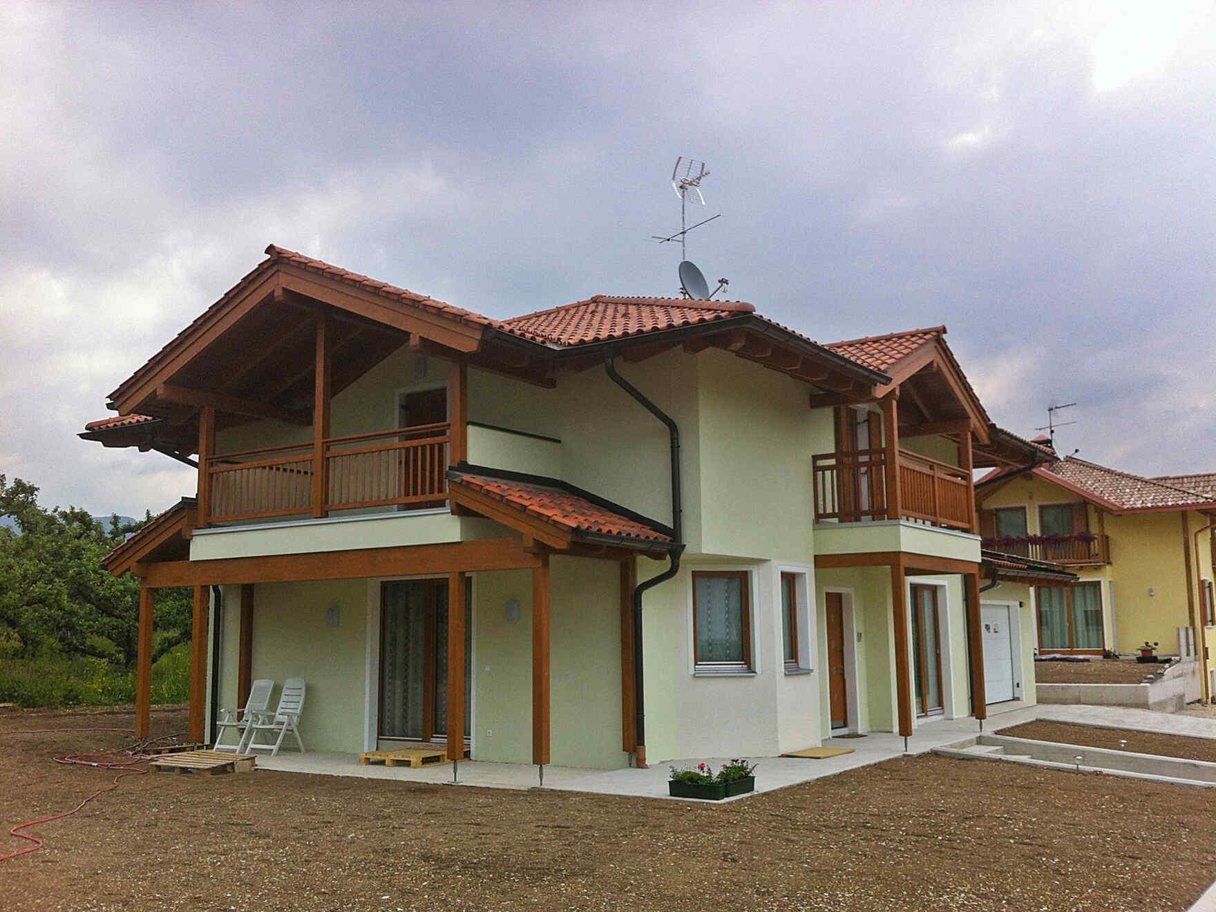 Maison préfabriquée famiglia Fellin