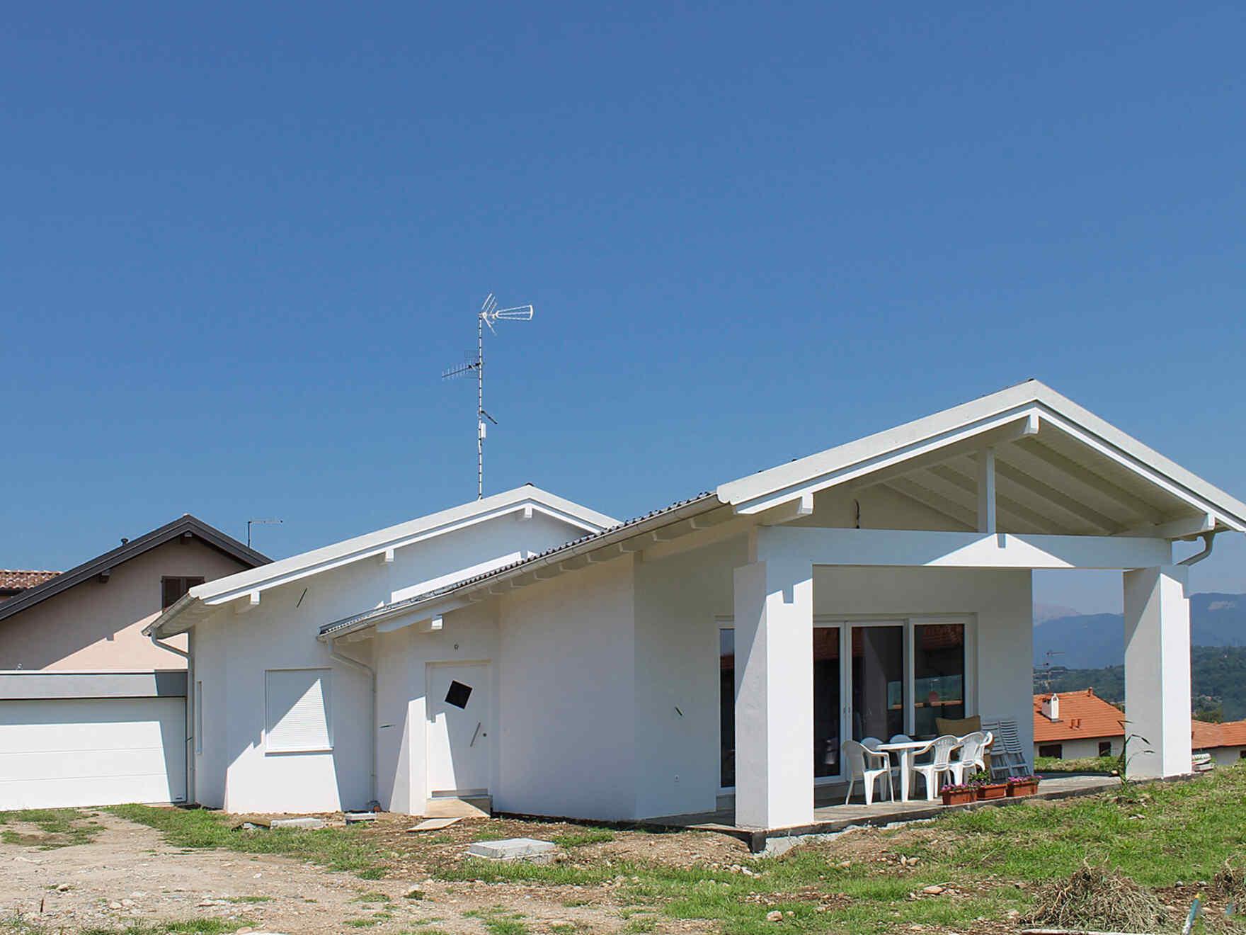 Prefabricated house famiglia Giussani
