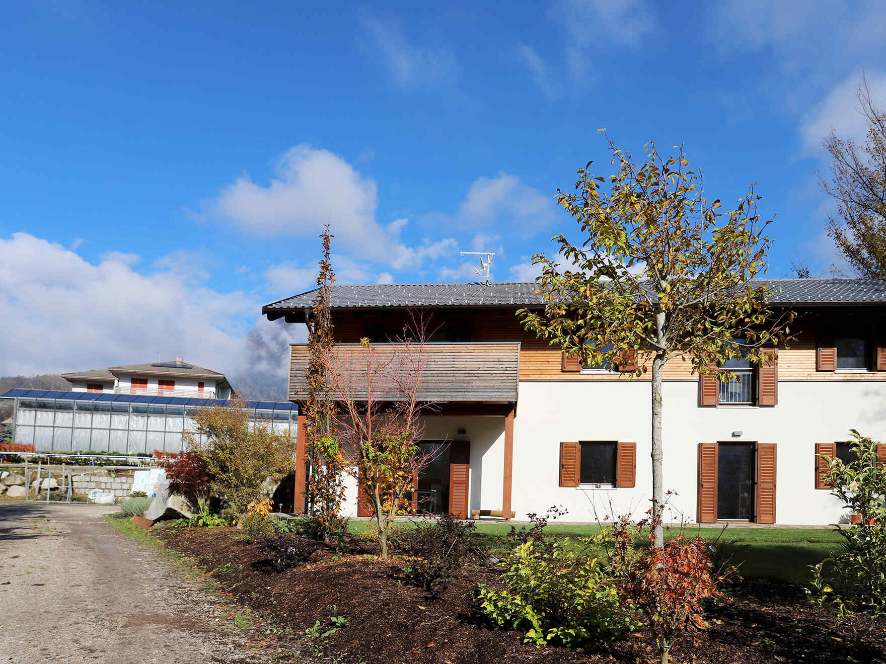 Prefabricated house Agritur Massetto