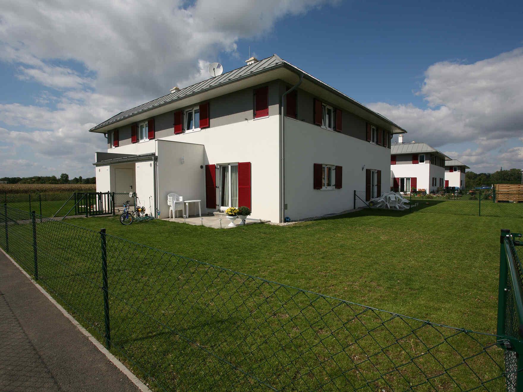 casa prefabbricata in legno Wohnanlage mit 40 Einheiten