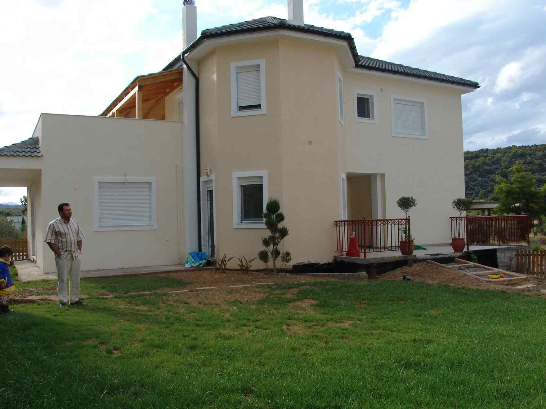 Prefabricated house Familie Sotiropoulos