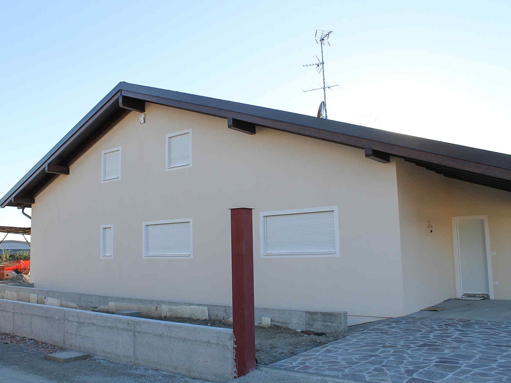 casa prefabbricata in legno famiglia Piazza