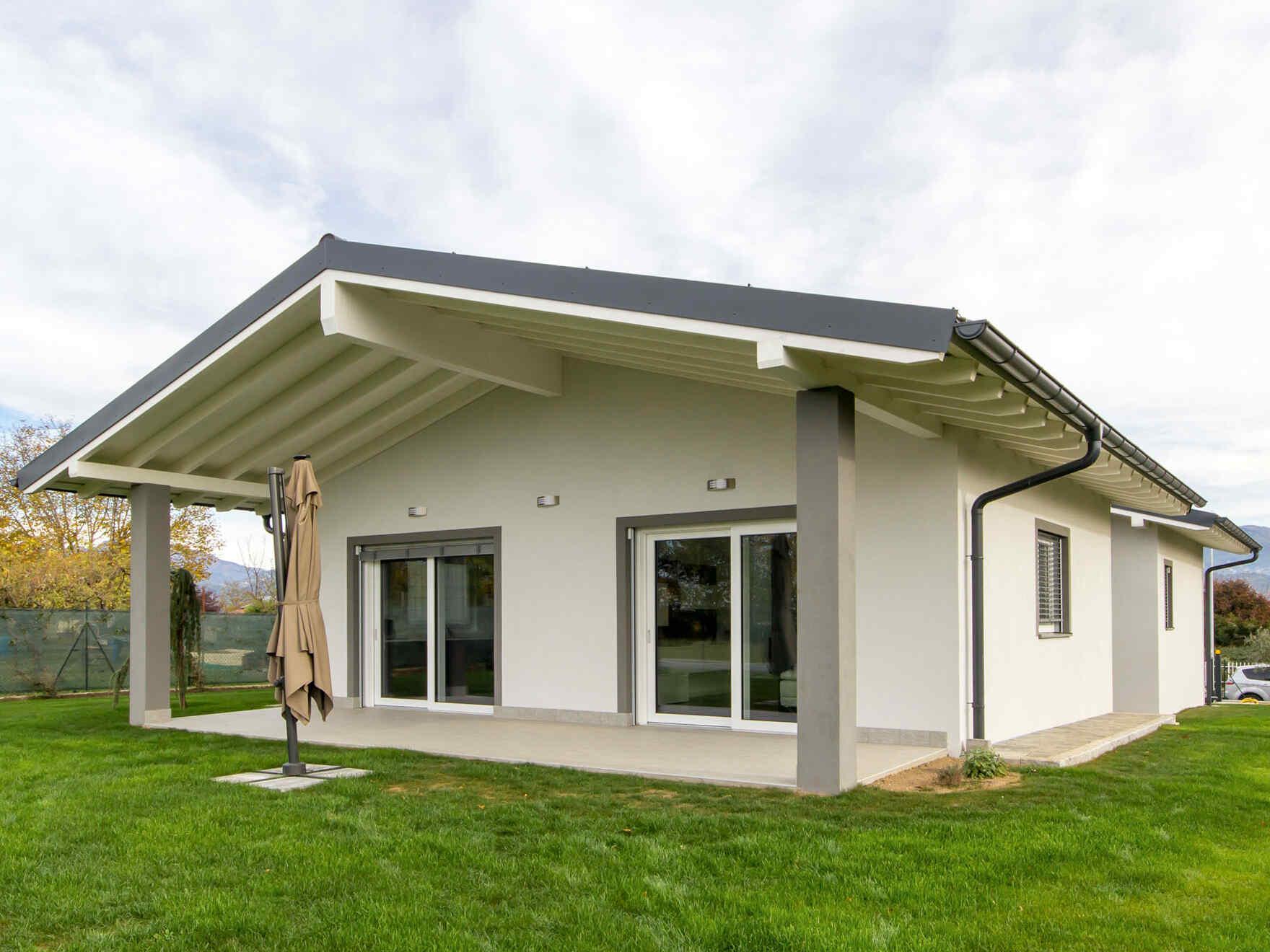 casa prefabbricata in legno famiglia Prosdocimi