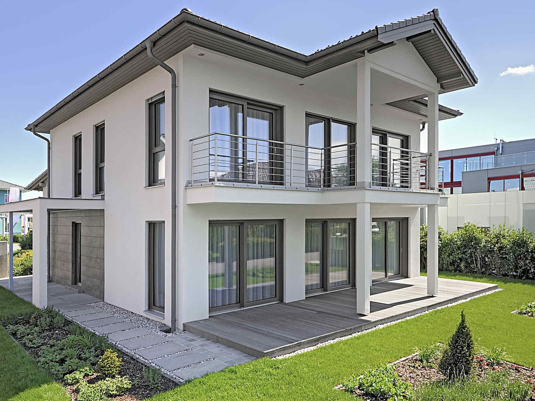 Prefabricated house Musterhaus New Design V
