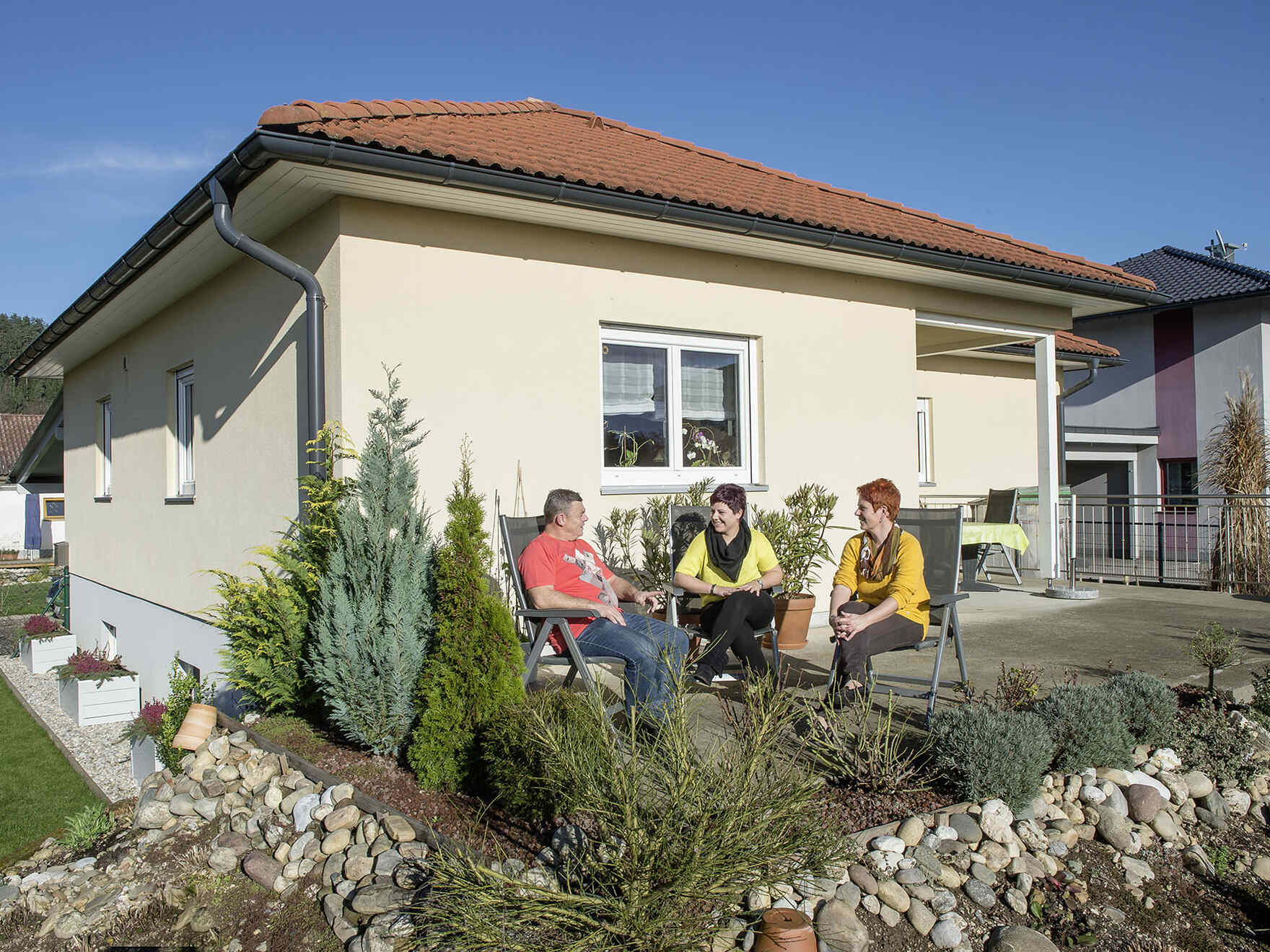 Prefabricated house Familie Hartmann