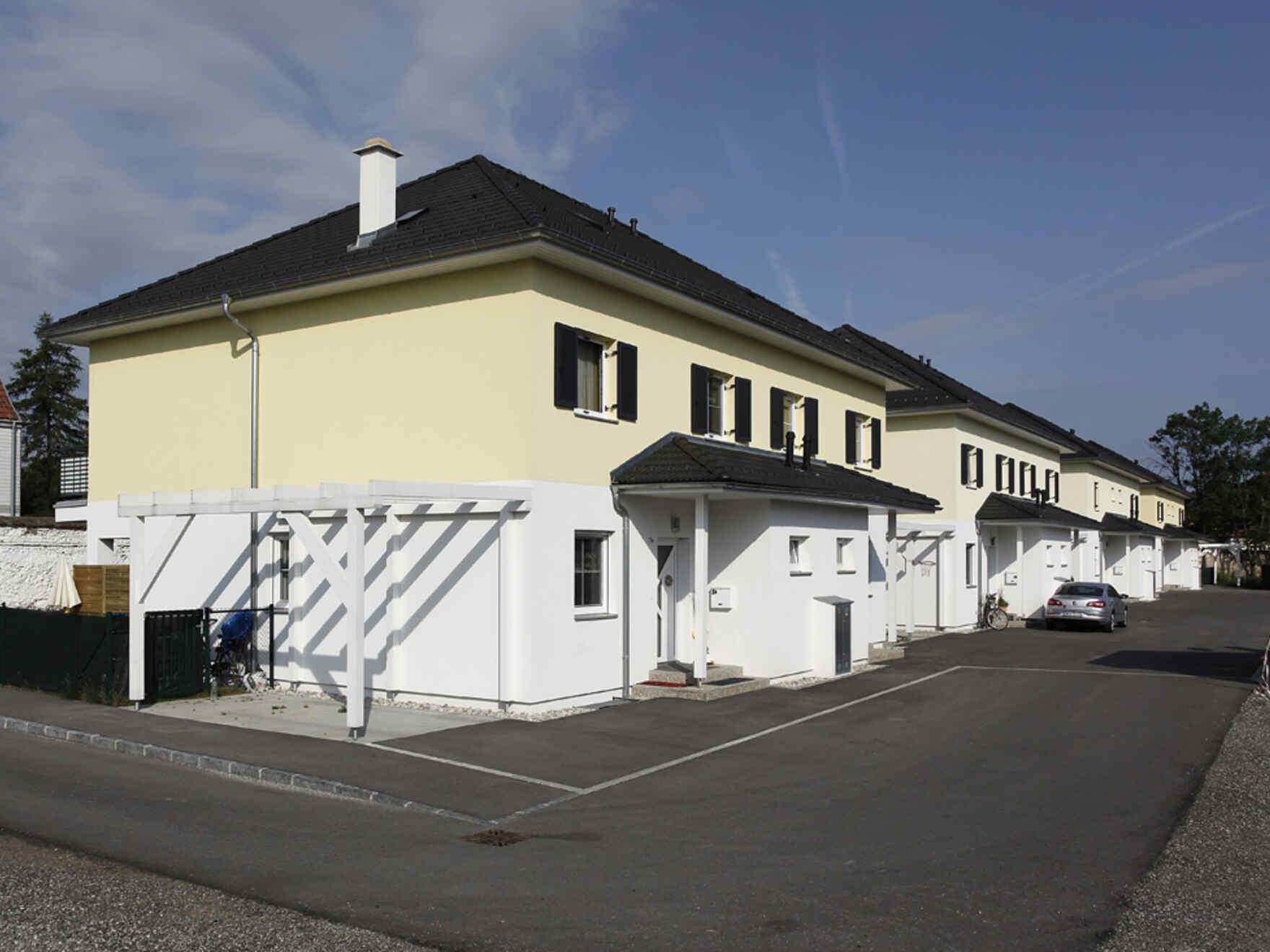 casa prefabbricata in legno Villenwohnanlage im Akademiepark