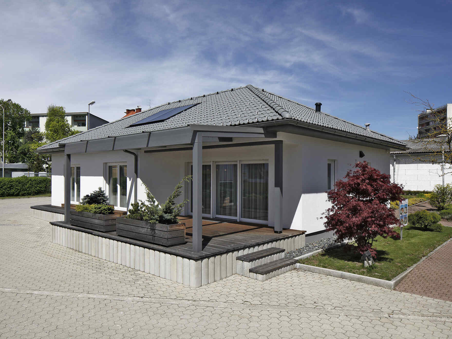 Prefabricated house Bungalow Family VII emotion