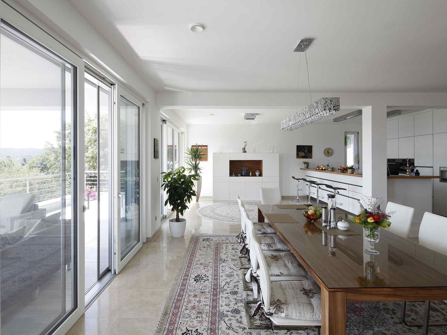"casa prefabbricata in legno Architects ""Residenz am Berg"" S271"