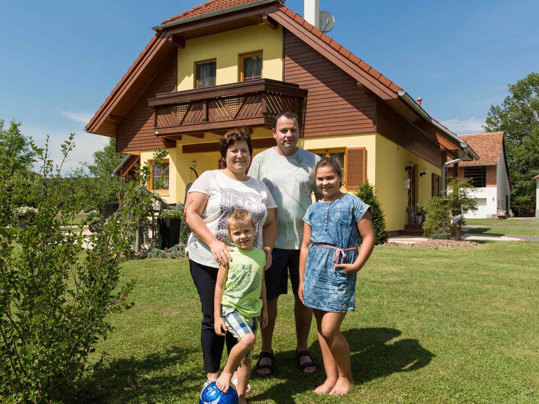 Fertighaus Familie Haas
