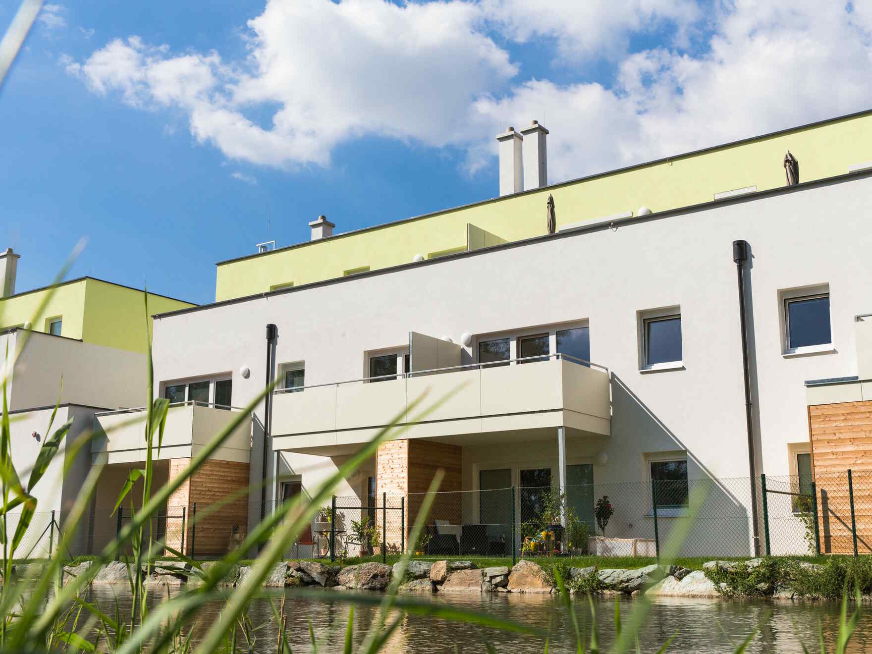casa prefabbricata in legno Wohnhausanlage Eggendorf