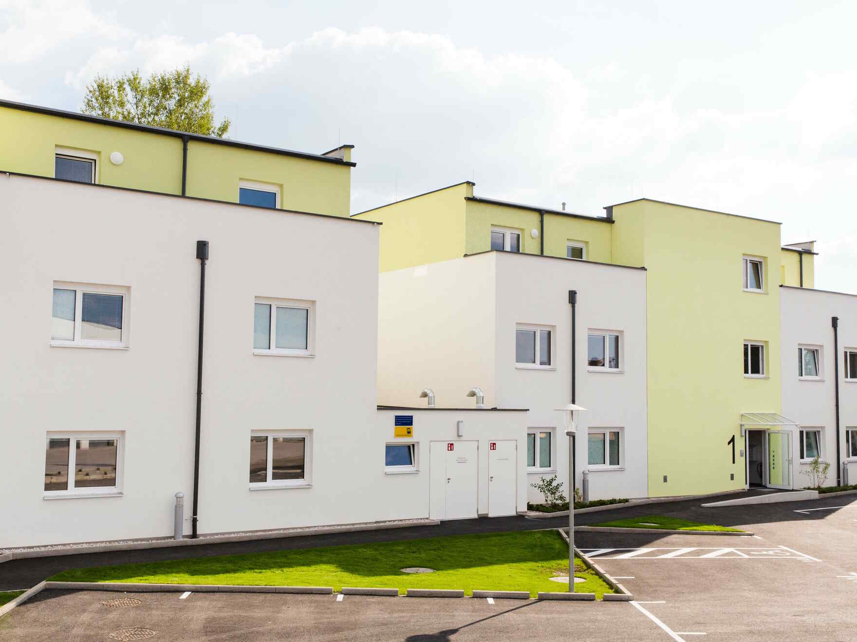 Fertighaus Wohnhausanlage Eggendorf