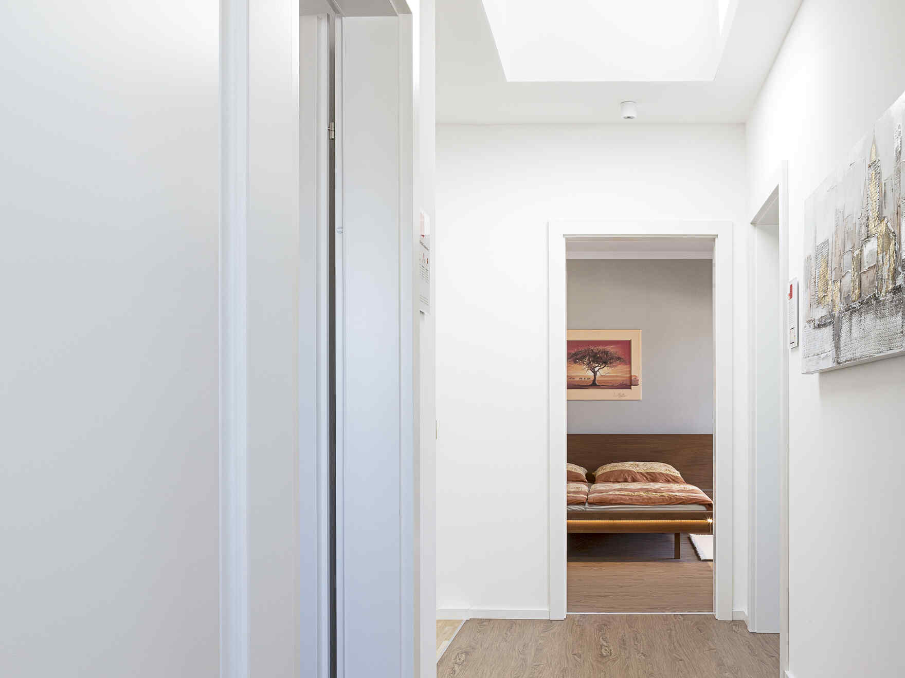 casa prefabbricata in legno Musterhaus Esprit