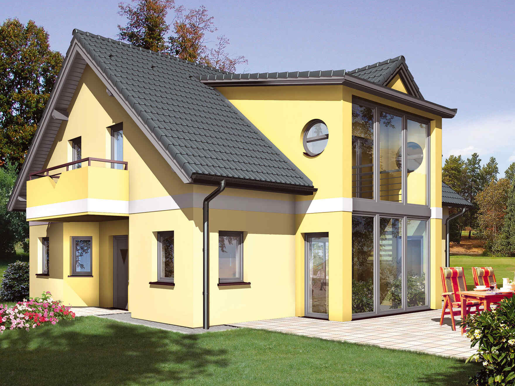Prefabricated house Family IV