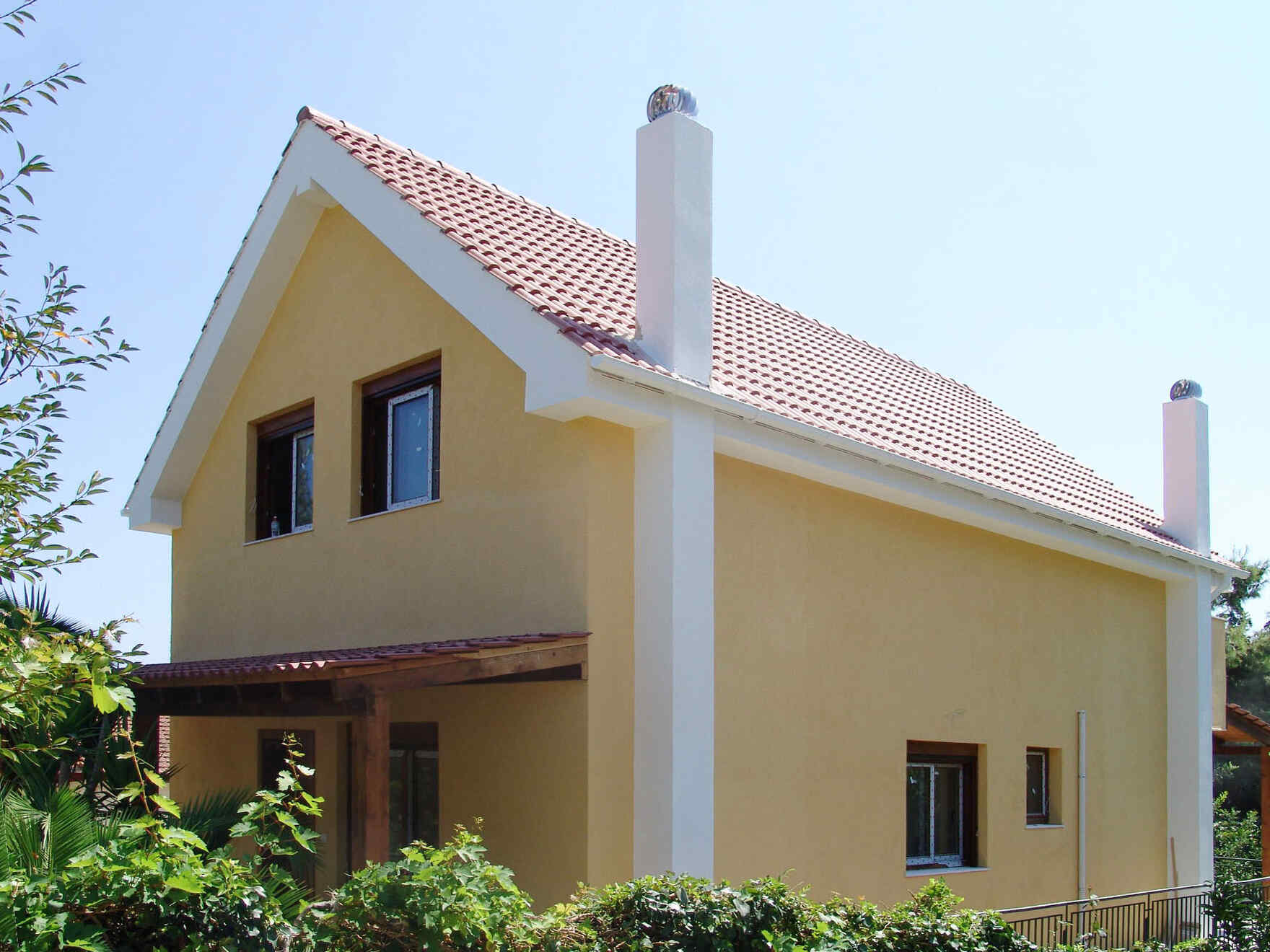 Prefabricated house Familie Korakis