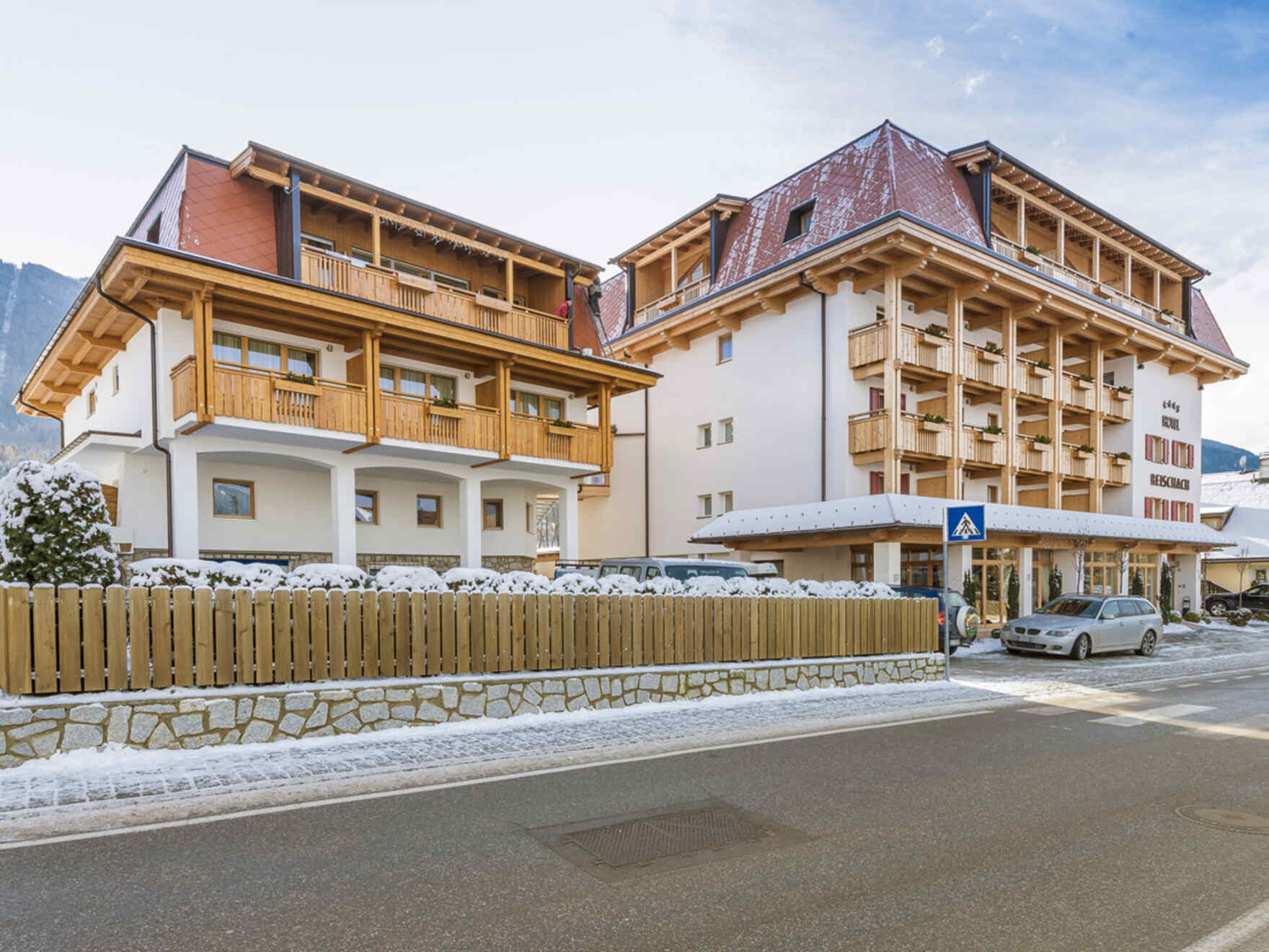 Prefabricated house Hotel Reischach KG