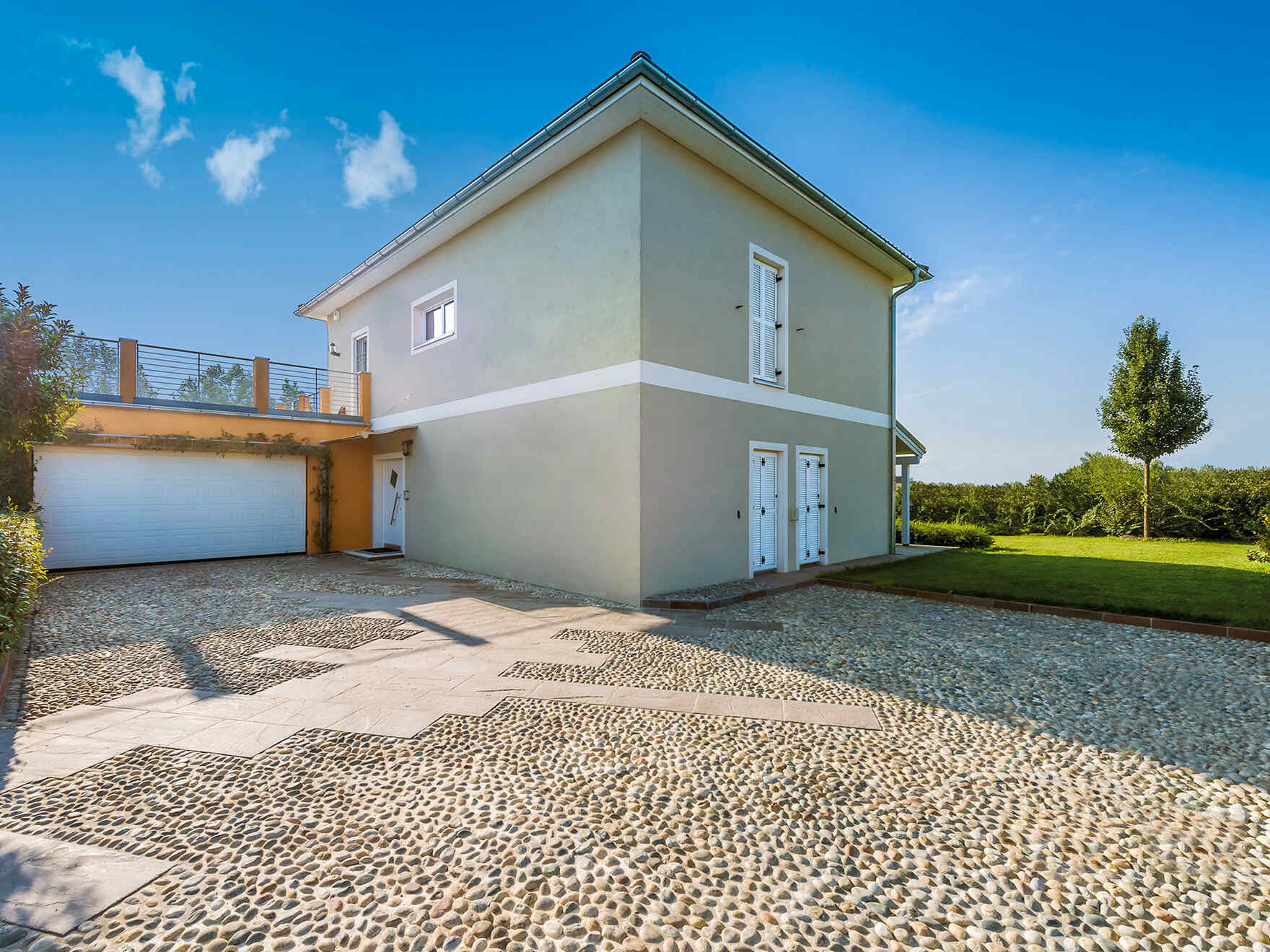 casa prefabbricata in legno famiglia Glauca Domus