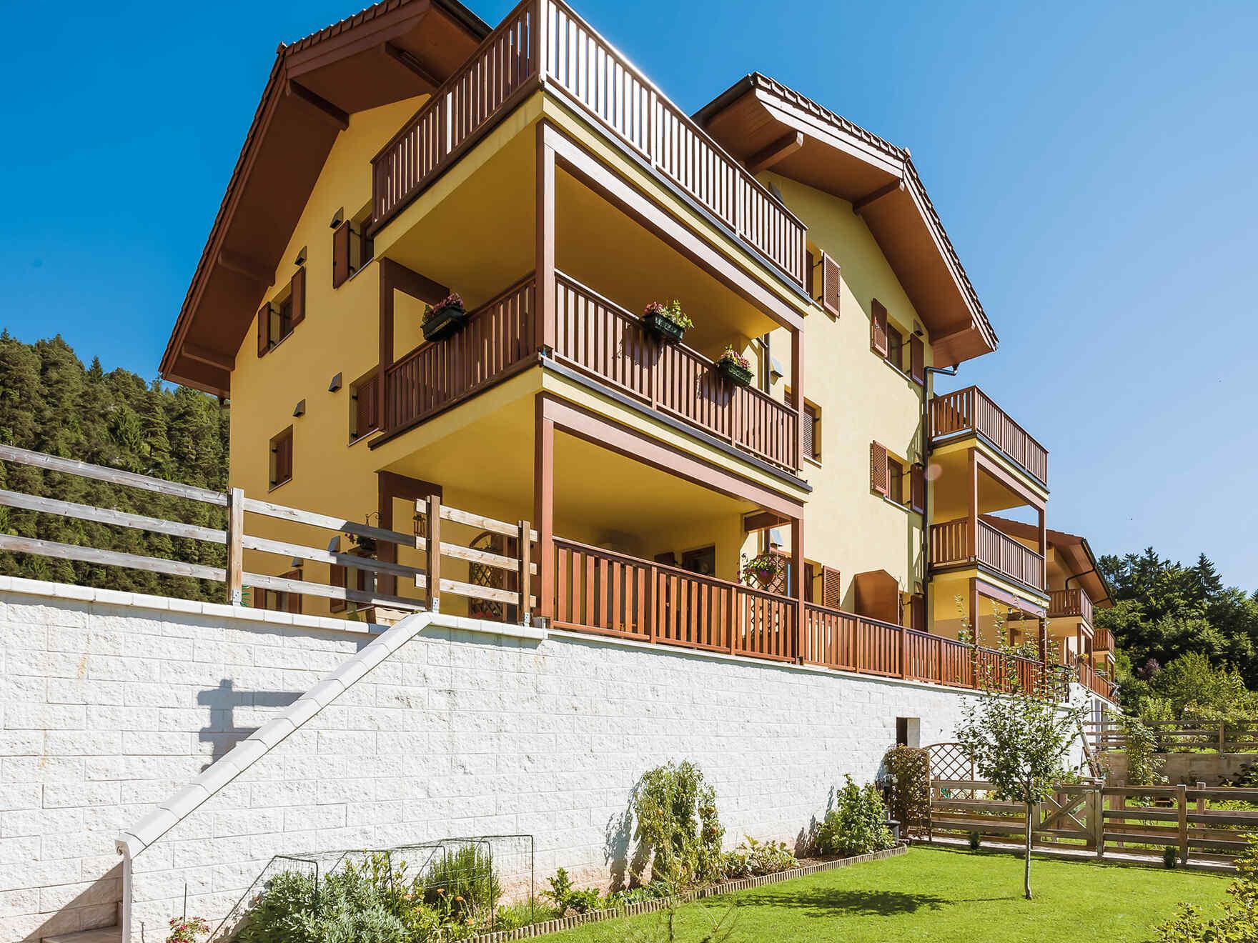 Fertighaus Passiv-Wohnhausanlage Mendola