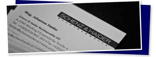 (c) Schenz & Haider Rechtsanwälte OG