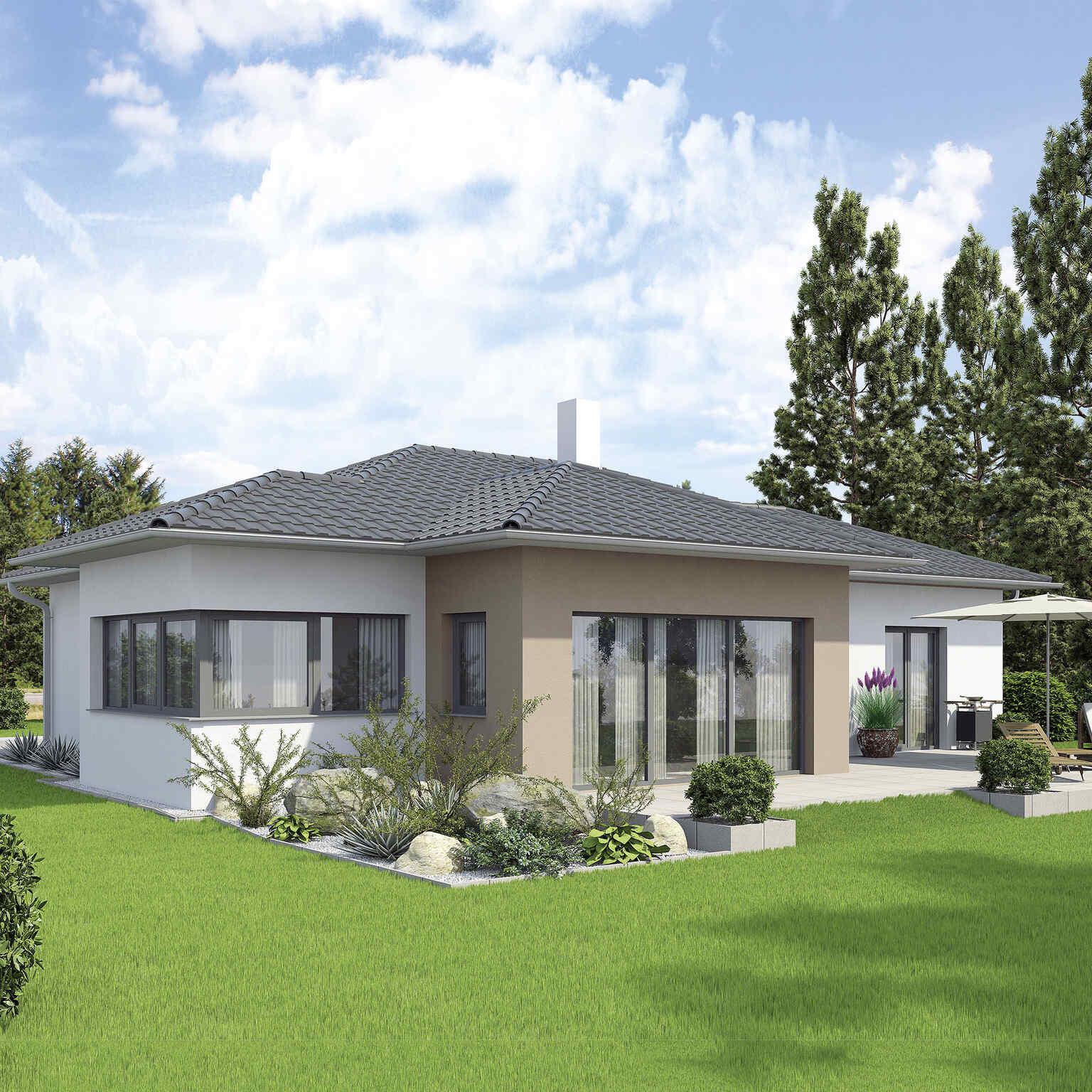 Linie Bungalow Neues Zuhause Vario Haus Fertigteilhauser