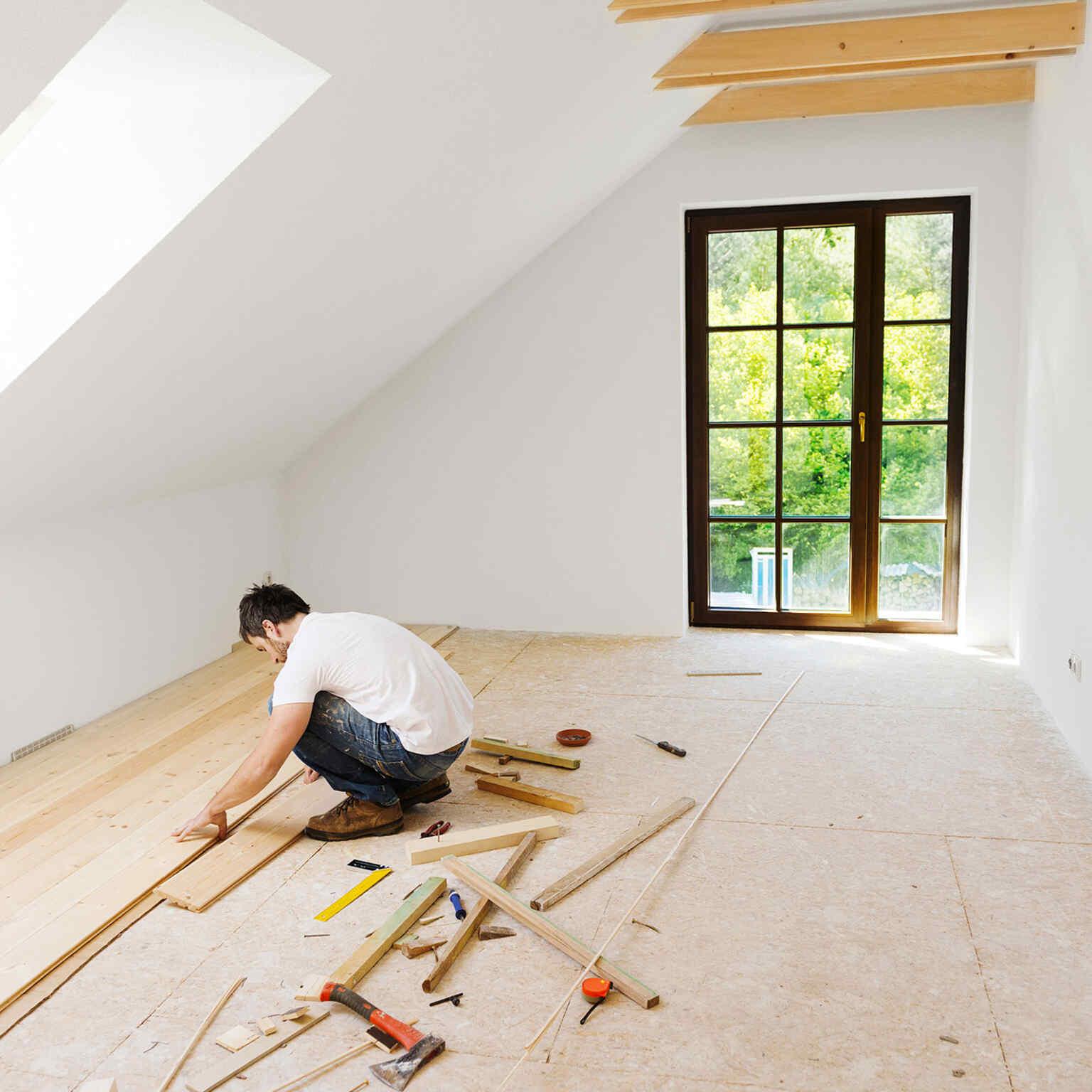 Haus bauen Schritte Nummer 4: Innenausbau